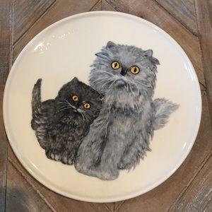 Cat Kitten Plate Goebel Mother Series 1976 Germany